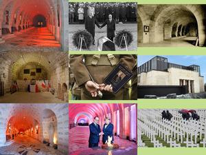 Frankreich 100 Jahre Krieg Andenken. E.