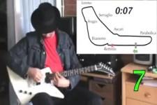 RennstreckenSound mit der E-Gitarre