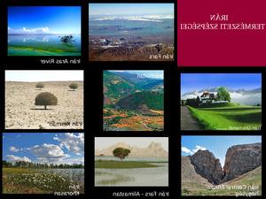 Naturschönheiten Irans