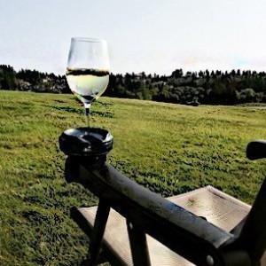 Outdoor Weinglas-Halter!