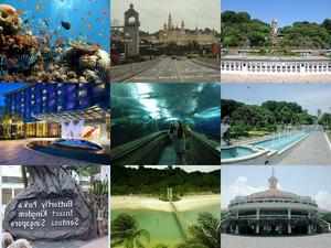 Singapore - Insel Sentosa