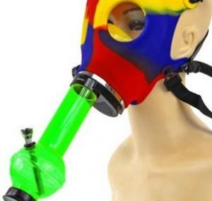 Acryl Bong inkl. Maske!