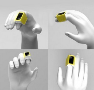 Intelligente Wireless Bluetooth 4.0 Ring Maus !
