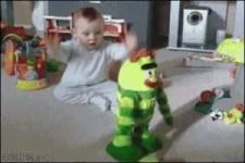 Baby und Kaspar