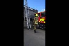 Flott die Leiter hoch