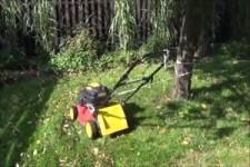 Rasenmähen für Faule