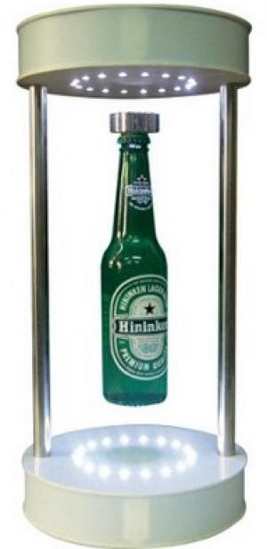 Schwebender und beleuchteter Flaschenhalter!