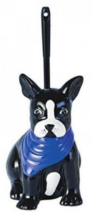 WC-Bürstengarnitur französische Bulldogge!