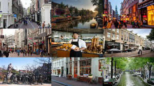 Holland Amsterdam Urlaub.Erika