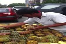 Ananas in Scheiben