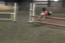 Springen wie ein Pferd