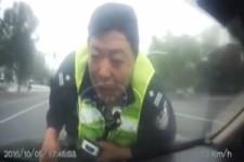 der Polizist hält dich nie wieder an