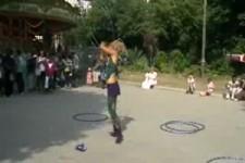 Super Hula-Hoop-Mädel