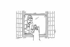 Simon's Cat - Fenster putzen zwecklos