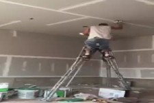 ohne Leiter die Decke anstreichen