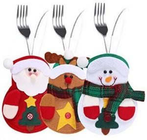 Weihnachtliches Besteckhalterset!