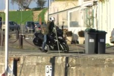 Sein neues Motorrad