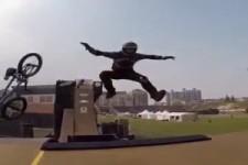 Cooler Stunt