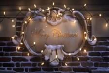 Dachlandung zu Weihnachten