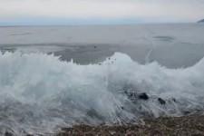 wie am Baikalsee Eis entsteht