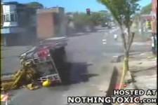 Feuerwehrwagenunfall