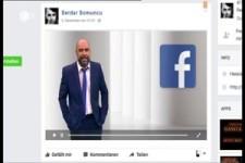Comedian Serdar Somuncu ueber Facebook