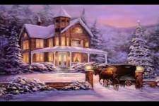 Schöne Weihnachtsstimmungsbilder