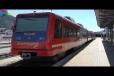 Fahrt mit der Zillertalbahn