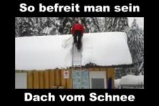 Befreiung vom Schnee