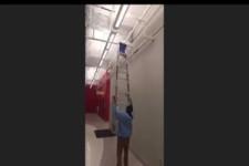 Noch nie eine Leiter verwendet