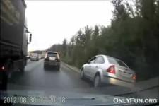 Geschickt auf der Autobahn ueberholen