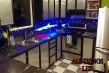 Spezielle LED-Küchenrückwand