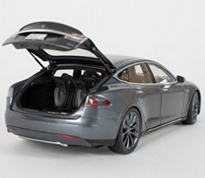Teures Tesla-Modell-Auto!