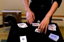 Genialer Kartentrick