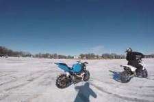 Das Motorrad macht selber weiter