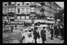 Eine Fahrt durch Wien 1906