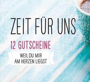 Gutscheinbuch Zeit für uns!