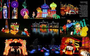 Festival de linterna mágica en Londres 2017 - Laternenfest