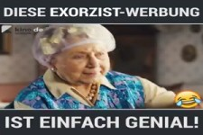 Geniale Exorzist-Werbung