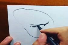 So zeichnet man ein Gesicht