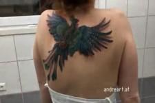 Tattoo kann fliegen