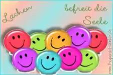 Lachen befreit die Seele
