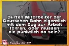 Mitarbeiter Deutsche Bahn