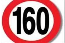 160 km/h erlaubt