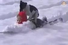 Auch Hunde können Spass haben