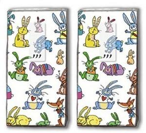 Lustige Osterhasen-Taschentücher!