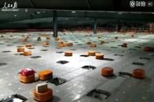 Sortier-Roboter bei der Arbeit