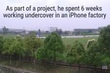iPhone-Fabrik in China - Undercover-Einblick auf englisch