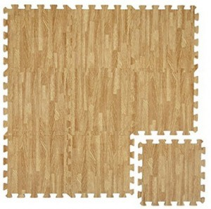 Puzzle-Matte in Holz-Optik!