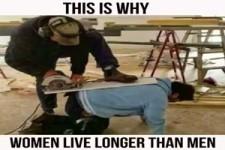 Deshalb leben Frauen länger als Männer